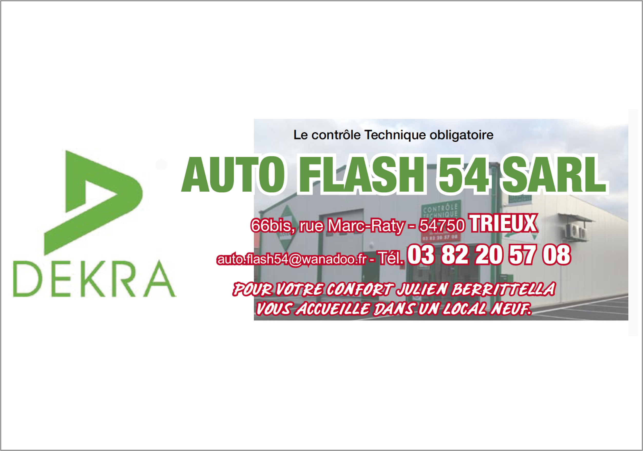 Auto Flash 54 SARL
